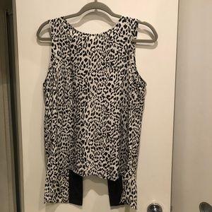 Snow leopard Parker blouse